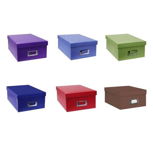 Image for Pioneer Photo/Video Storage Box, Assorted Colors
