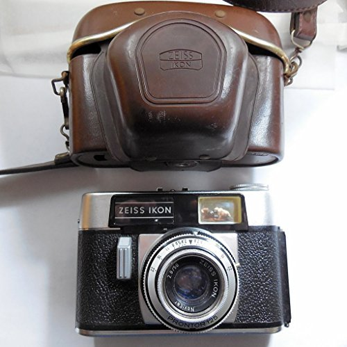 Image for Zeiss Ikon Colora 1960s Film Camera with Novicar 50mm Lens & Original Case, Made in Germany